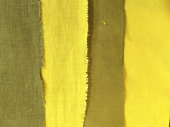 Weld + .5% iron on cotton and linen