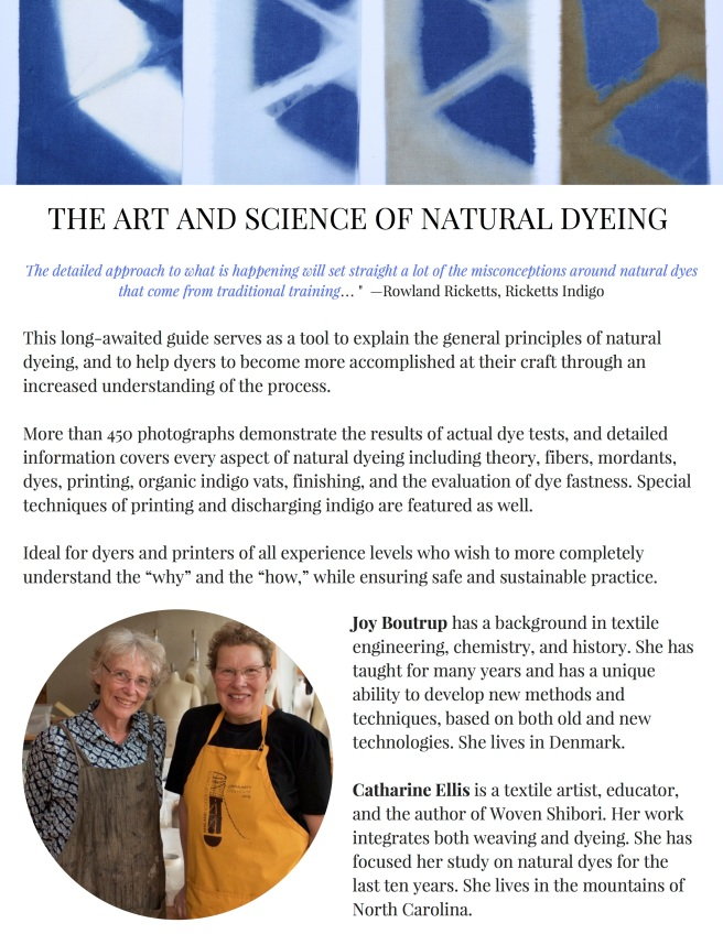 Art and Science of Natural Dyes back
