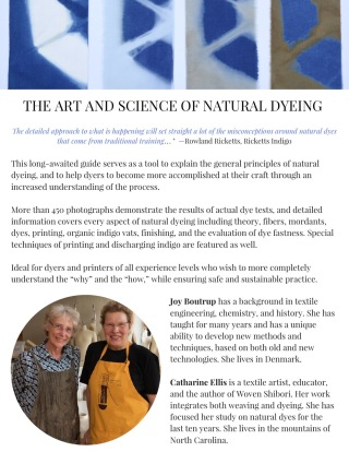 Art and Science of Natural Dyes (dragged)